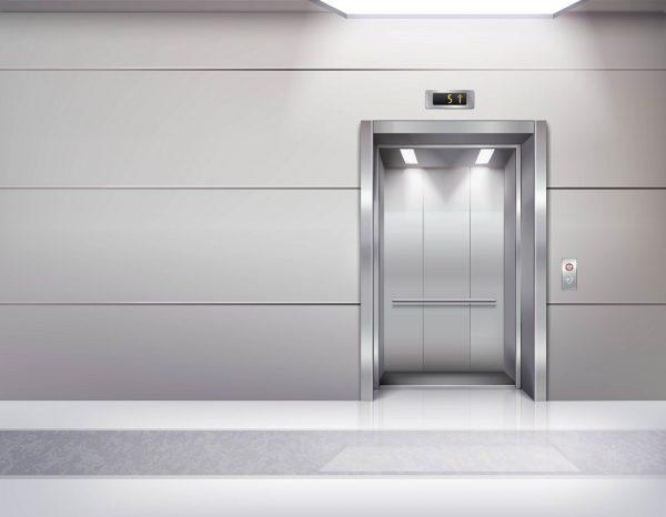 bajada a cota cero del ascensor